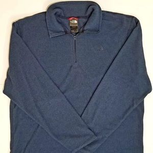 Men's North Face 1/4 Zip Pullover XL